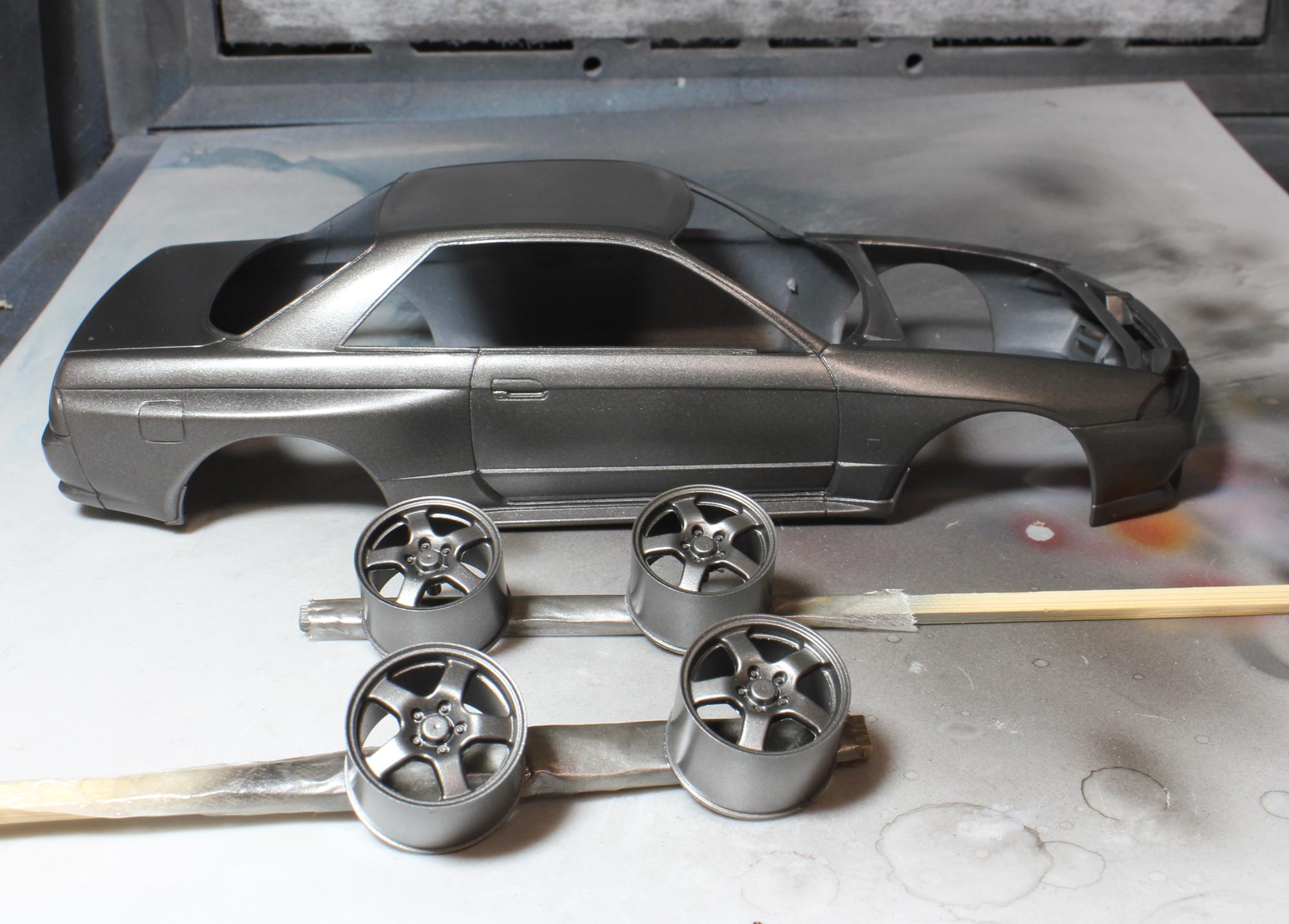 R32ホイール塗装