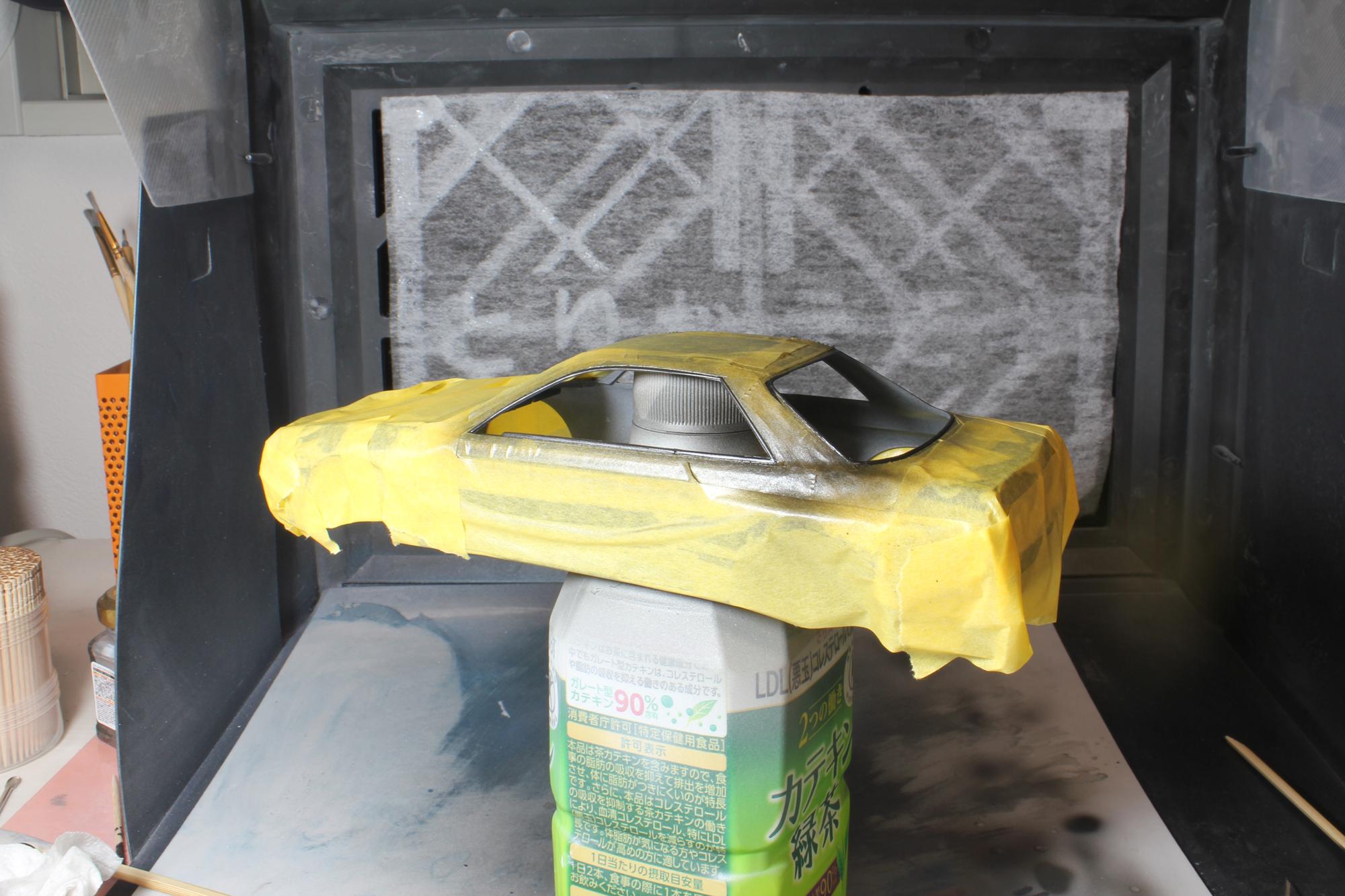 R32窓枠塗装