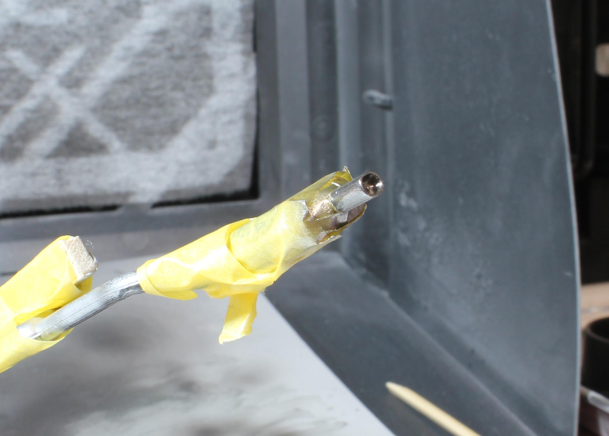 R32マフラー塗装