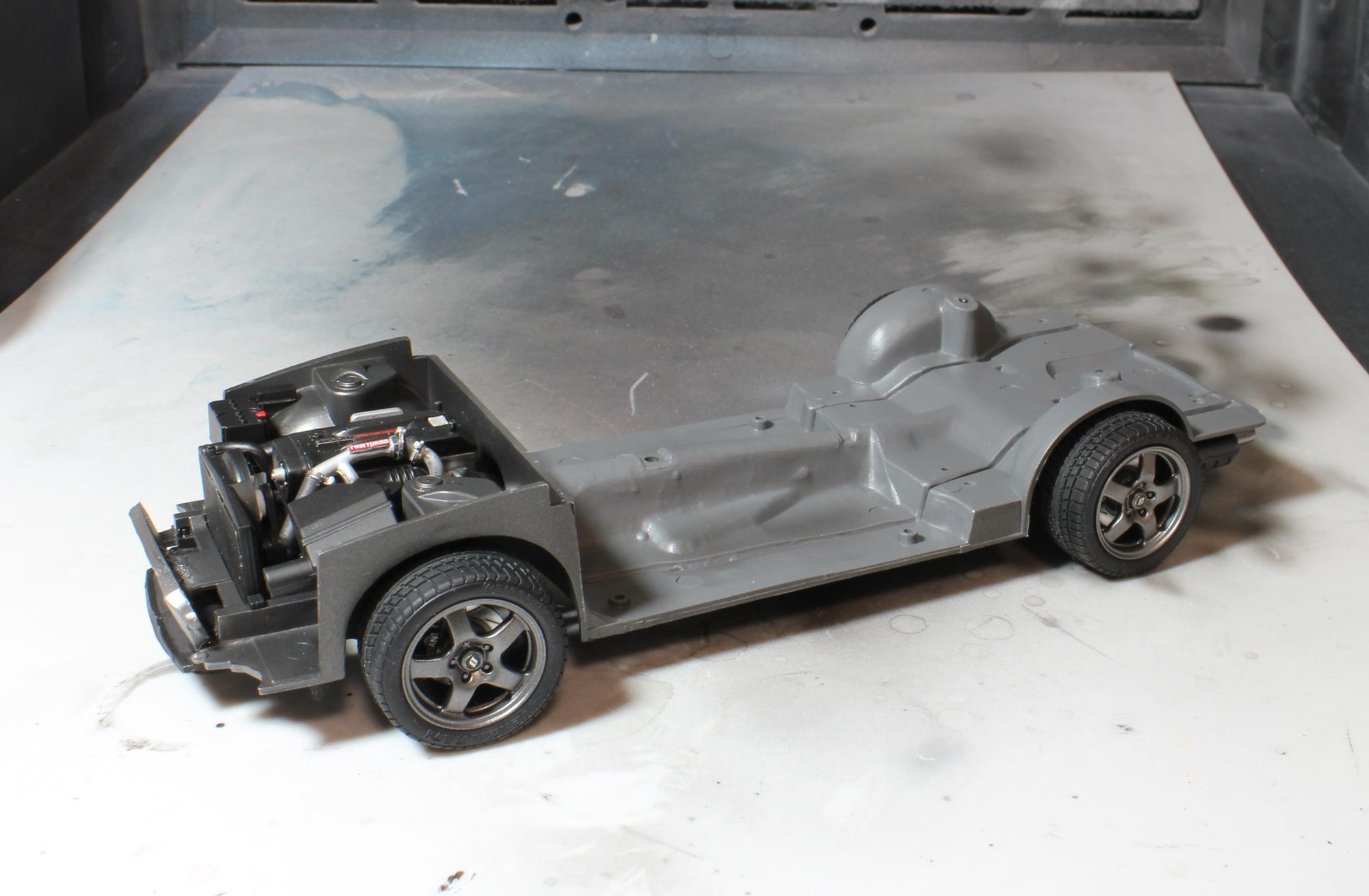 R32シャーシインタークーラー付2