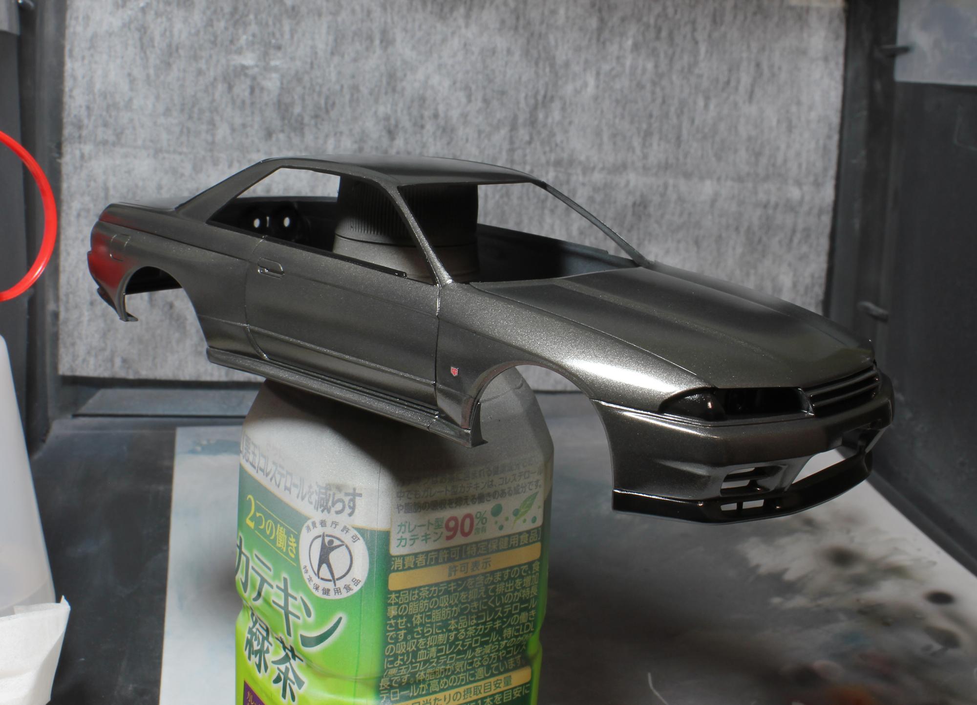R32クリア塗装1