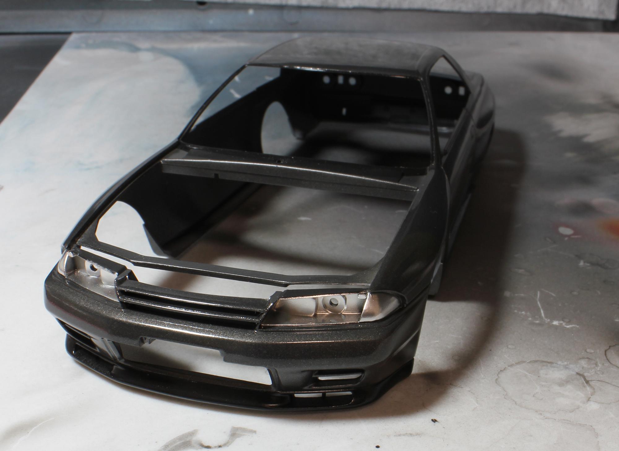 R32リフレクター塗装