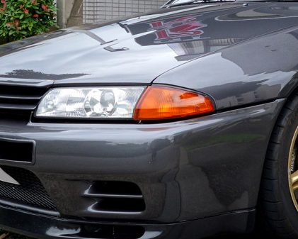 R32実車ヘッドライト3