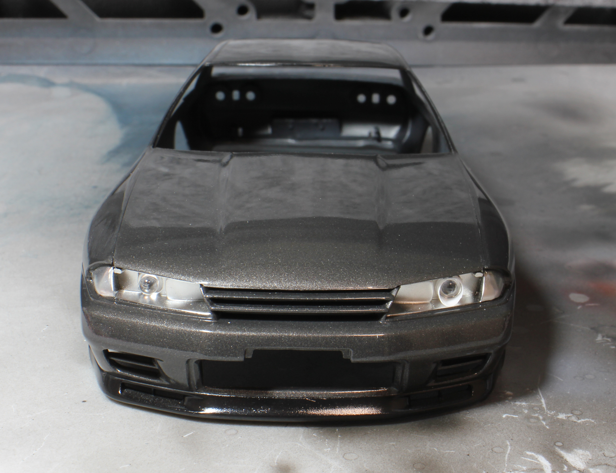 R32ヘッドライト加工1