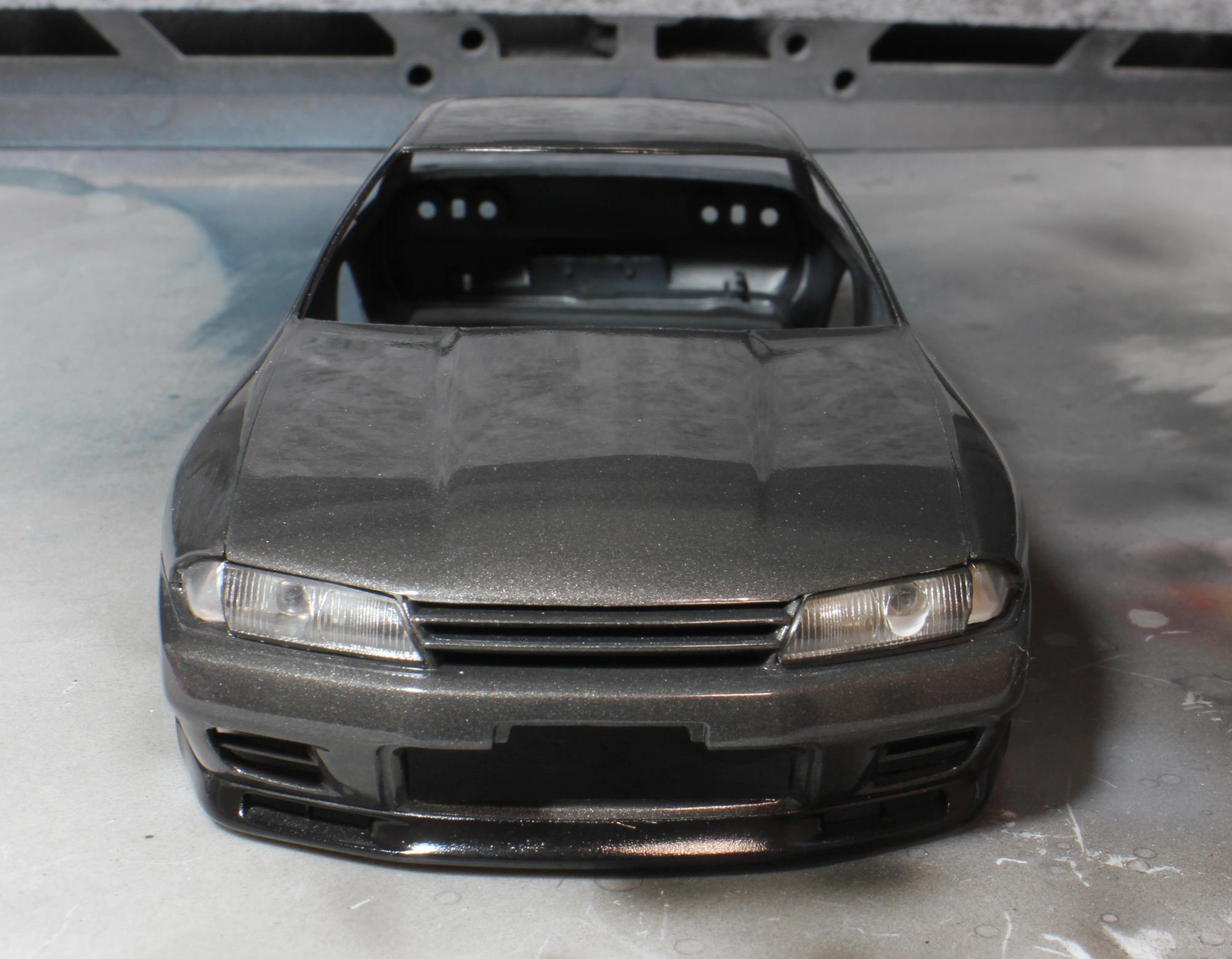 R32ヘッドライト加工2
