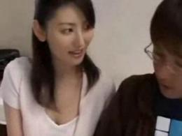 北原多香子 美人で超美乳な家庭教師が勉強だけじゃなくSEXも教えてくれた!!