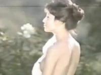 【お宝】由美かおる 美乳モロ出しでツンと勃った乳首がエロ過ぎるお宝動画