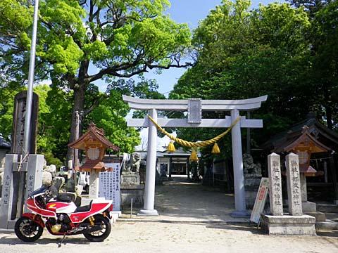 都波岐神社①