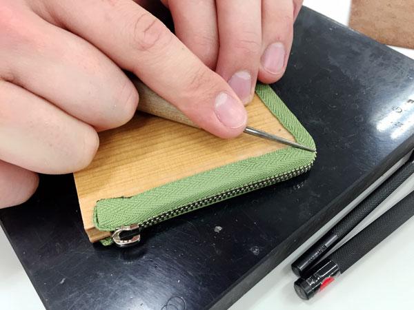 木型のコインケース34