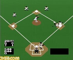 ベースボールの画面