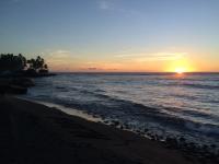 ハワイコナ夕日