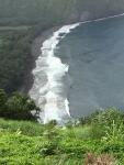 ハワイコナワイピオ渓谷波