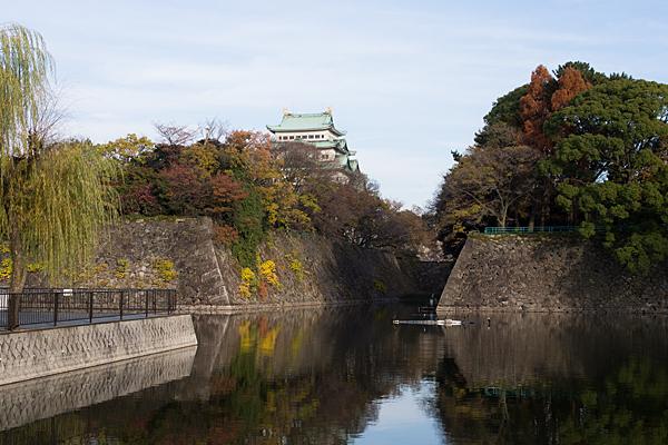 名古屋城内堀風景