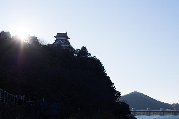 犬山城と伊木山