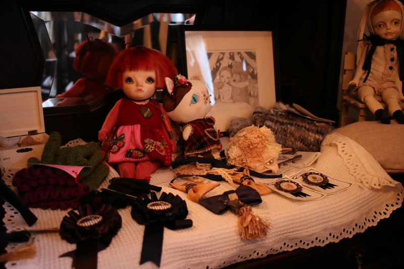 コルメキッサ 人形