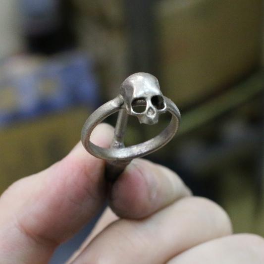パンタレイ panta スカル 髑髏 煮干し skull シルバー 鋳造 大田区 池上
