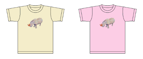 パンタレイ panta 石橋彩 aya ishibashi 個展 大田区 池上 ギャラリー クロワッサイ Tシャツ