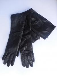本革ロング手袋