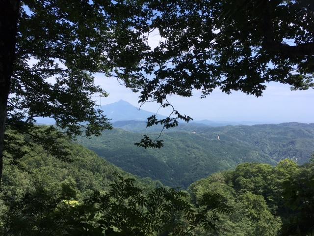 白神山地からの眺め