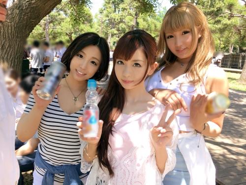 BBQ(バーベキュー)ナンパ 01 in お台場 - メイ 21歳 ガールズバー店員 04