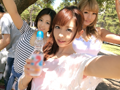 BBQ(バーベキュー)ナンパ 01 in お台場 - メイ 21歳 ガールズバー店員 06