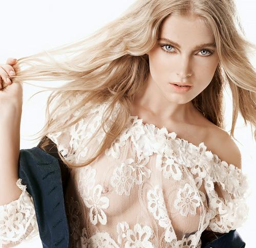 人気ファッションモデル、エルザ・ホスクの乳首が透けてるセクシー画像やヌード画像www