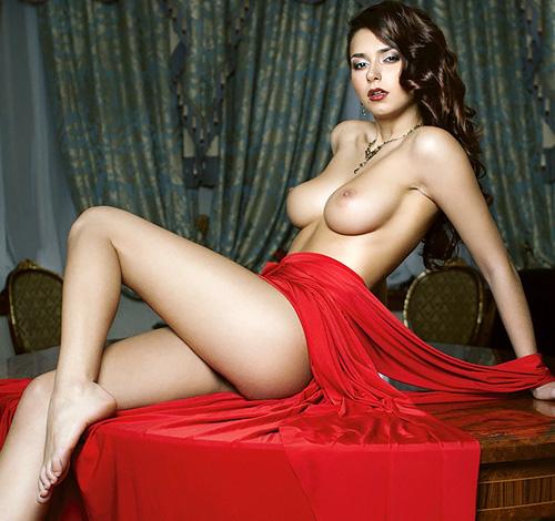 美しいロシアのぬーどモデル、Helga Lovekaty の色っぽいぬーどwwwwww