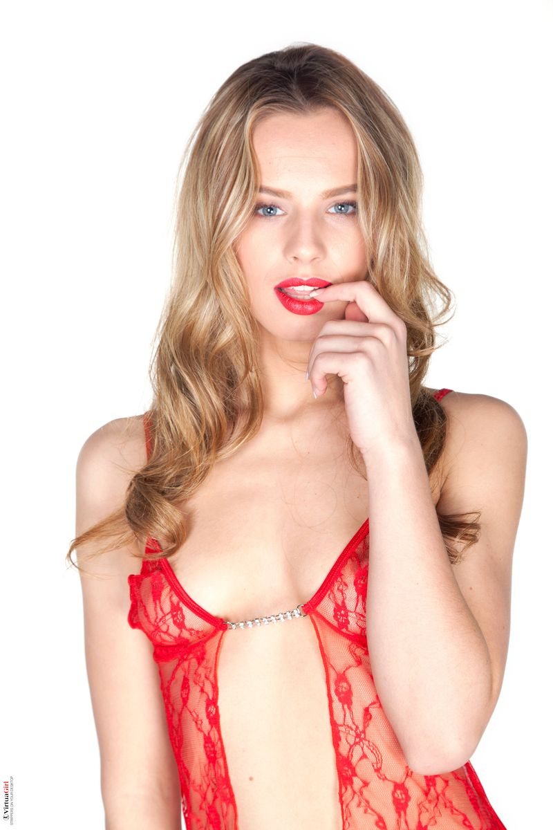Jillian Janson - RED LINGERIE 01