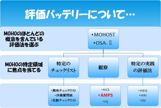 MOHO 評価の手順 AMPS 実践.