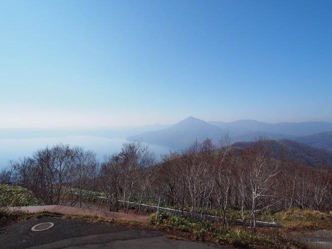 恵庭岳が望めます
