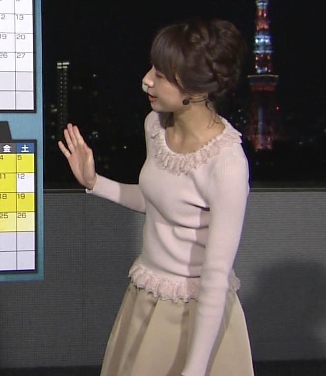 林美沙希 セーターキャプ・エロ画像5