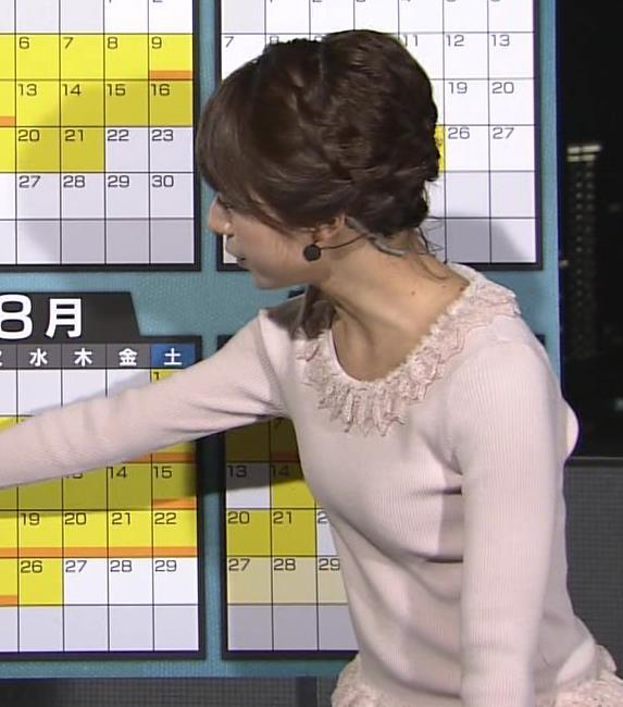 林美沙希 セーターキャプ・エロ画像6