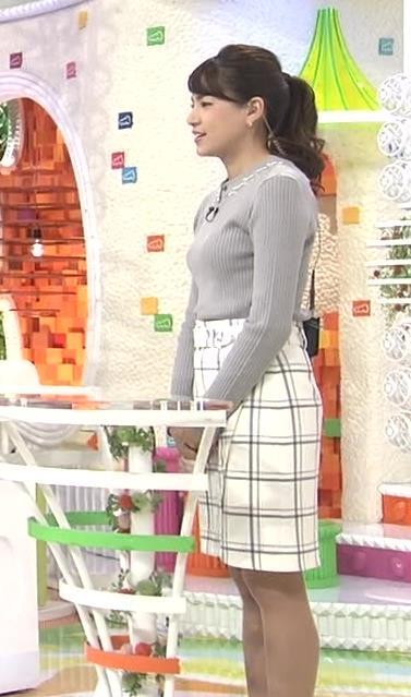 永島優美 セーターキャプ・エロ画像3
