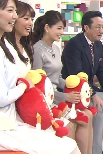 永島優美 セーターキャプ・エロ画像4