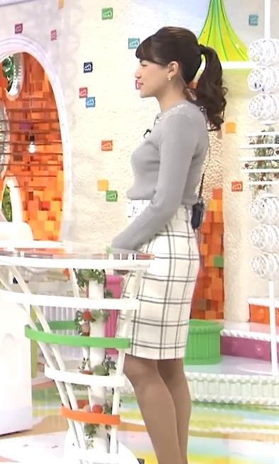 永島優美 セーターキャプ・エロ画像5