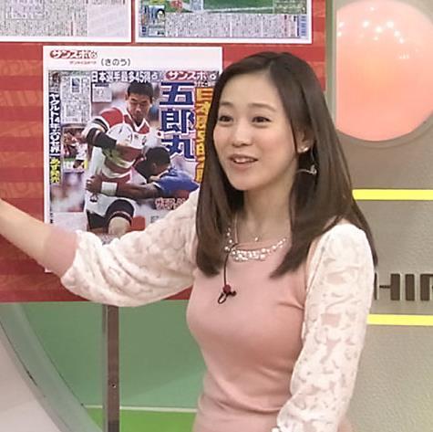 江藤愛 おっぱいキャプ・エロ画像3