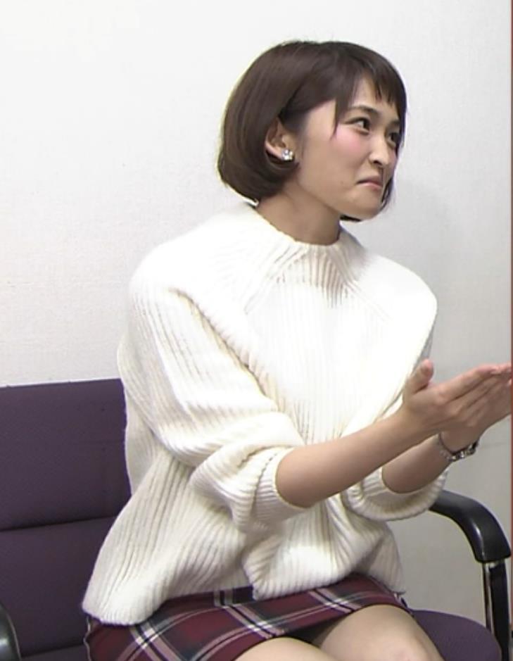 岡本玲 ミニスカートキャプ・エロ画像2