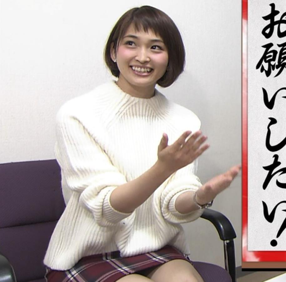 岡本玲 ミニスカートキャプ・エロ画像3