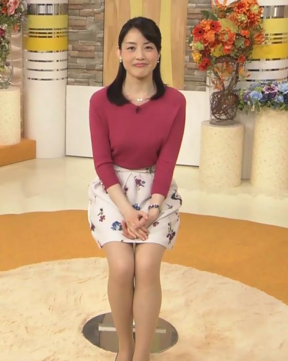 江崎史恵 ミニスカートキャプ・エロ画像5