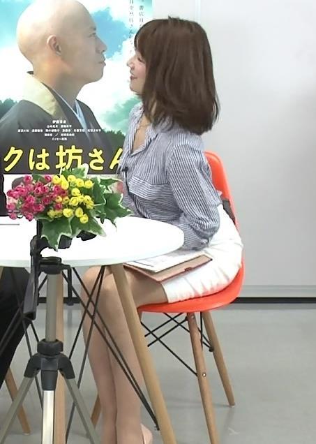 長野美郷 ミニスカ美脚 スカート短すぎ!