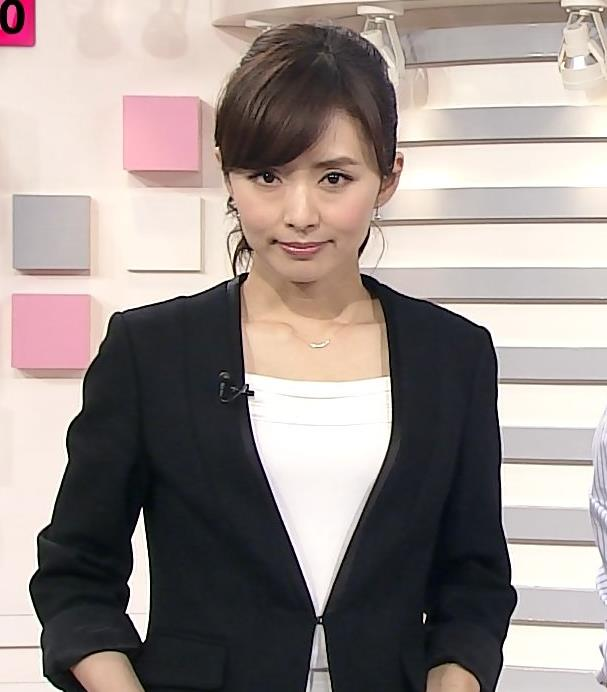 伊藤綾子 鎖骨画像