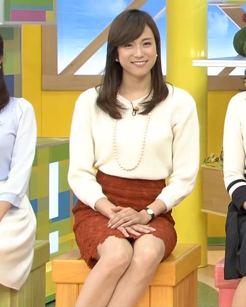 笹川友里 美人アナのミニスカ▼ゾーン
