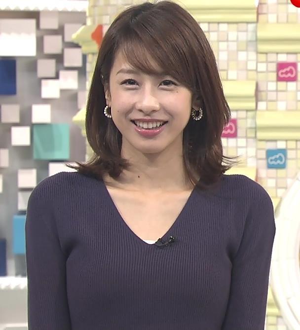加藤綾子 太もも画像2