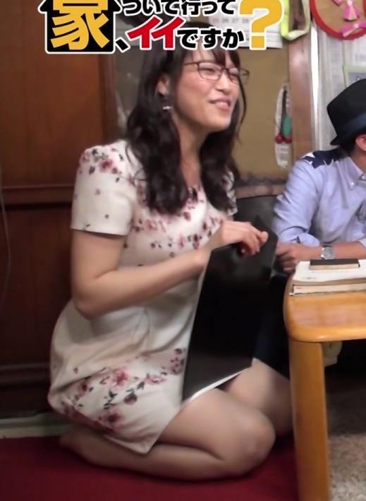 鷲見玲奈 ミニスカート画像