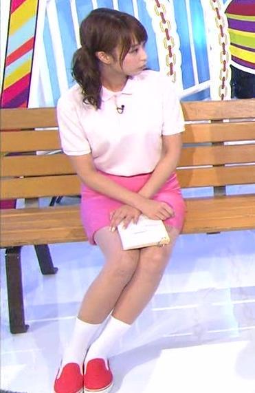 宇垣美里 ミニスカート画像3