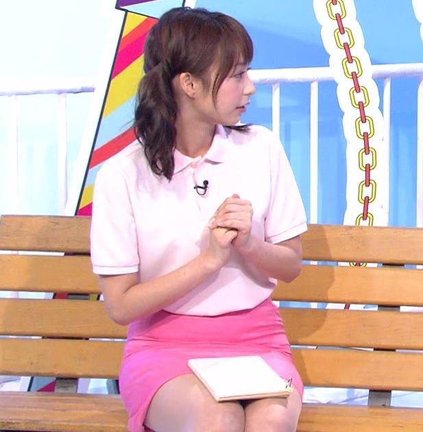 宇垣美里 ミニスカート画像6