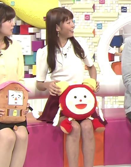 岡副麻希 ミニスカート画像4