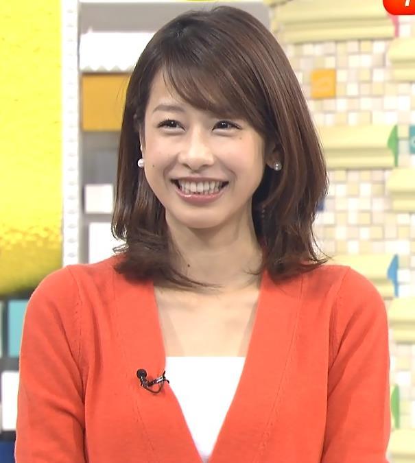 加藤綾子 胸元画像3