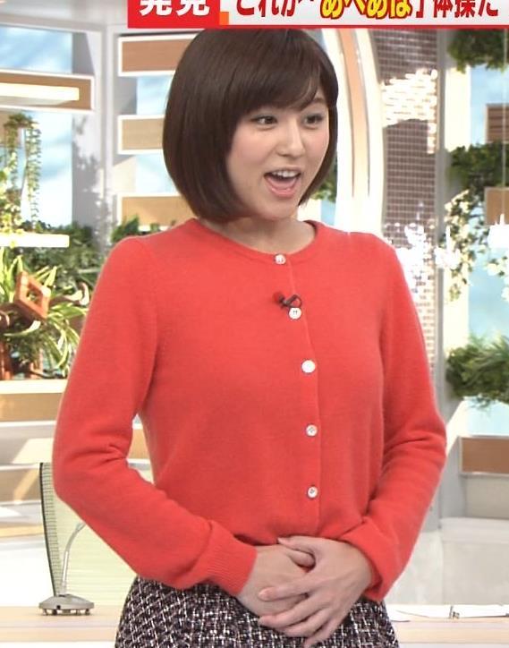 宇賀なつみ スカート画像6