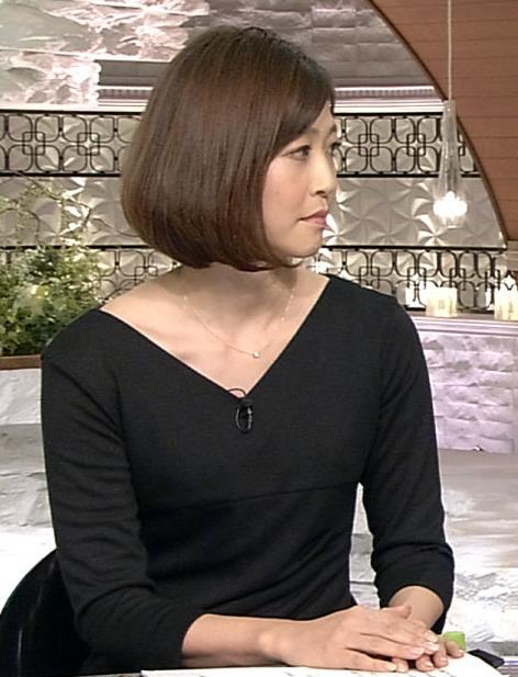 久保田智子 ワンピース画像2